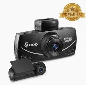DOD LS500W - Câmera do carro com resolução dupla FULL HD 1080P + GPS
