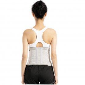 Varmebælte til rygsmerter med display til temperaturregulering op til 65 ° C