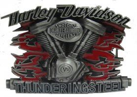 Harley Davidson - belt buckle