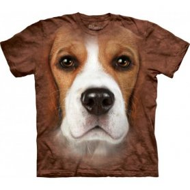 Animal faccia t-shirt - Beagle