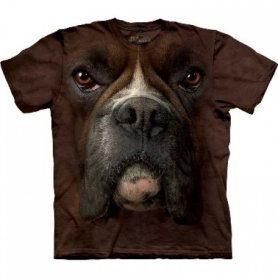 Animal twarz t-shirt - Boxer