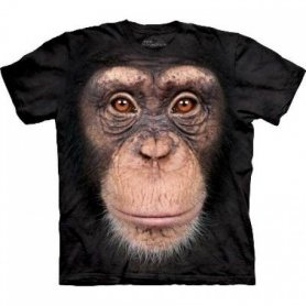 Animal face t-shirt - Chimpanzee
