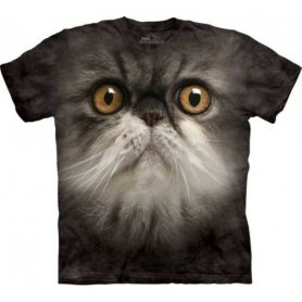 Animal face t-shirt - Persian Cat