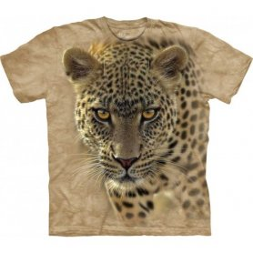 Animal twarz t-shirt - Leopard