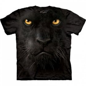 Animal twarz t-shirt - Panther