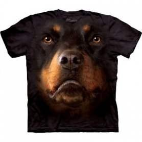 Cara Animal t-shirt - Rottweiler