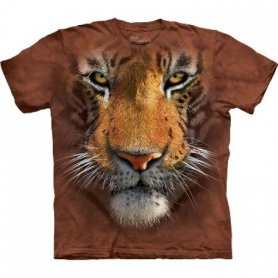 Animal twarz t-shirt - Tiger