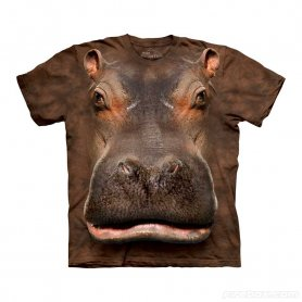 Animal twarz t-shirt - Hippo