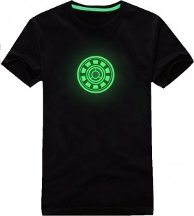 Glow in the dark-T-Shirts - Ironman
