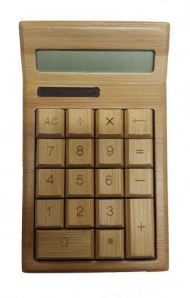 Bamboo Calculator Solar