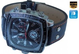 Orologio da mano con telecamera full HD + IR LED + 4GB