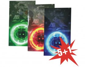 Action - 5 +1 lacets LED
