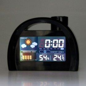 Alarm Clock with built-in meteo station