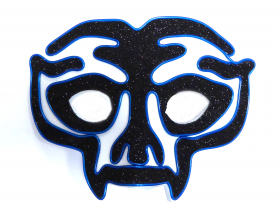 Neon Mask Avenger - Blue