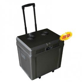 Portable fridge with extra volume of 42L