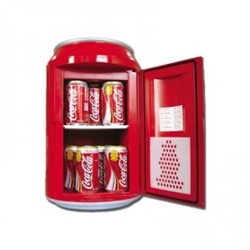 Mini fridge - a can, with capacity 10L/12 cans