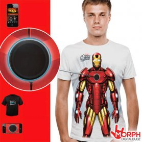 Camisas frescas digitales - Iron Man