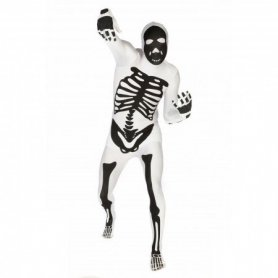 Morf skeleton costume - Halloween