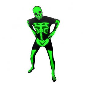 Costumes d'Halloween Morph - Glow Skeleton