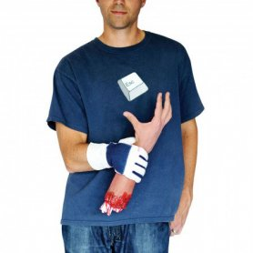Halloween Costume - severed hand
