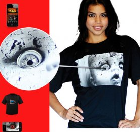 MORPH t-shirt digitali - Creepy Doll