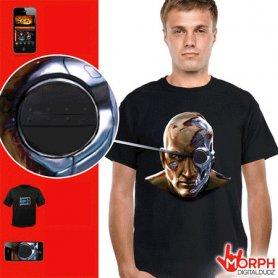 Morph digitális póló - Kiborg