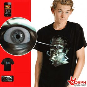 Camisa Morph digital - Frankenstein