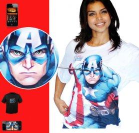 キャプテンアメリカ - モーフシャツ