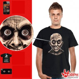 Funny Morph T-shirts - Zombie Eyes
