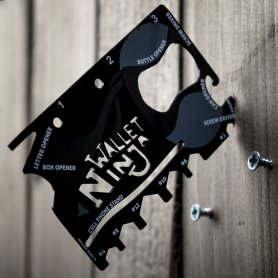Wallet ninja - 18v1 multi tool in wallet