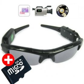 Spy Glasses cu camera - Agent 008 cu Micro SD de 4GB