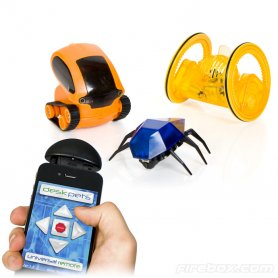 Remote controlled beetles through your mobile