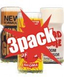 Poppers pack 3x - Mix