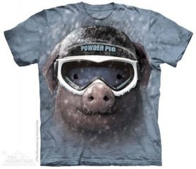 Mountain T-shirt - Pig