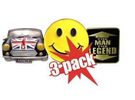 3x Pack Belt buckles at a good price