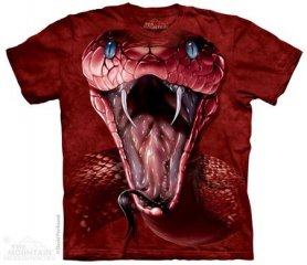 3D hallo-Tech-T-Shirt - Red Cobra