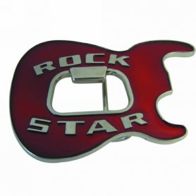 Rock Star - belt buckle