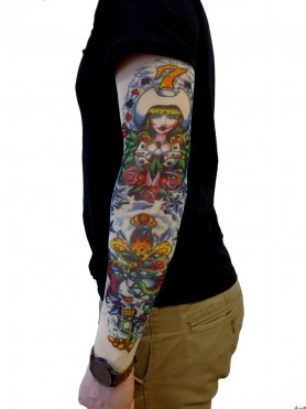 Tattoo sleeve - Kraken