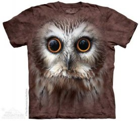 3D hi-tech shirt - Owl