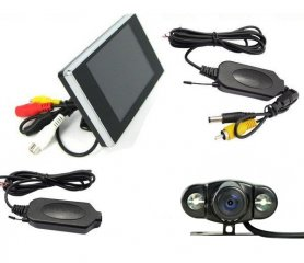 "Parking Set - 3,5"" LCD monitor  + wifi reversing camera"