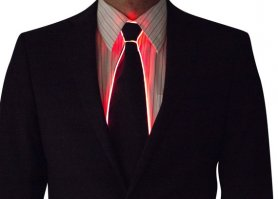 Flashing Ties - Red
