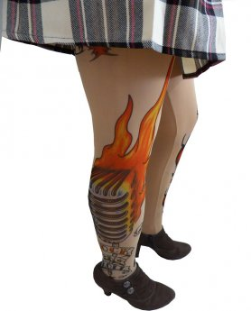 Collant Tattoo - ED HARDY