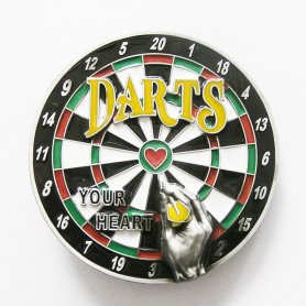 Darts - buckles for belts