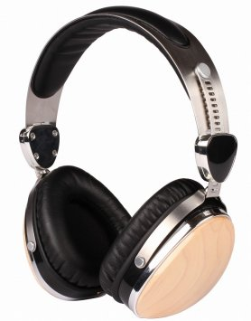Profi wooden headphones Esmooth ES-660BB
