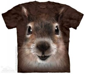 3D hi-tech shirt - Squirrel