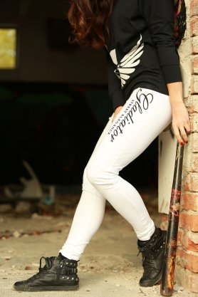 Strict Beauty - womens pants white