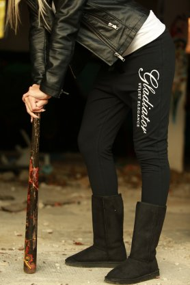 Strict Beauty - womens pants black