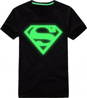 Glow in the dark - Superman