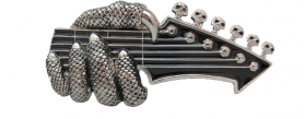 Belt buckle - Metal Guitar
