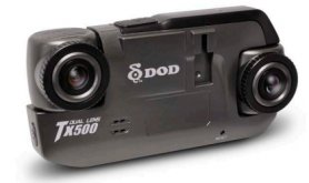 DOD TX500 Dual Lens car camera
